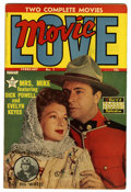 Golden Age (1938-1955):Romance, Movie Love #1 (Famous Funnies, 1950) Condition: VF-. Dick Powell,Evelyn Keyes, and Mickey Rooney photo cover. Overstreet 20...
