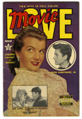 Golden Age (1938-1955):Non-Fiction, Movie Love #8 (Famous Funnies, 1951) Condition: FN. Frank Frazettainks Al Williamson art. Corinne Calvert and John Barrymor...