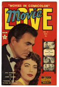 Golden Age (1938-1955):Romance, Movie Love #11 (Famous Funnies, 1951) Condition: VF-. Photo coverfeaturing Ava Gardner and James Mason. Overstreet 2006 VF ...
