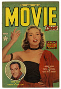 Golden Age (1938-1955):Romance, Movie Love #14 (Famous Funnies, 1952) Condition: FN/VF. Gene Kellyand Janet Leigh photo cover. Overstreet 2006 FN 6.0 value...
