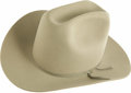 Movie/TV Memorabilia:Costumes, Jackie Gleason's Cowboy Hat. A handsome light grey Eddy Bros.cowboy hat owned and worn by the Honeymooners andSmokey... (Total: 1 Item)