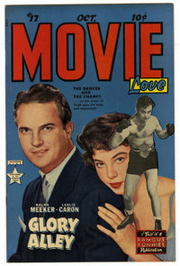 Movie Love #17 (Famous Funnies, 1952) Condition: NM-. Ralph Meeker and Leslie Caron photo cover. One-page Frank Frazetta...