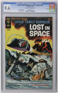 Space Family Robinson #25 File Copy (Gold Key, 1967) CGC NM+ 9.6 Off-white to white pages. George Wilson painted cover...