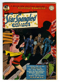 Star Spangled Comics #86 (DC, 1948) Condition: FN/VF. Jim Mooney cover. Mooney, Win Mortimer, and Fred Ray art. Overstre...