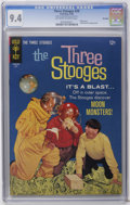 Silver Age (1956-1969):Humor, Three Stooges #29 File Copy (Gold Key, 1966) CGC NM 9.4 Off-white to white pages. Photo cover. Little Monsters backup story....