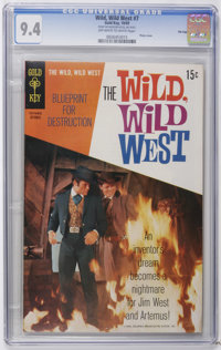 Wild, Wild West #7 File Copy (Gold Key, 1969) CGC NM 9.4 Off-white to white pages. Photo cover. Overstreet 2006 NM- 9.2...