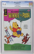 Bronze Age (1970-1979):Cartoon Character, Winnie the Pooh #1 File Copy (Whitman, 1977) CGC NM 9.4 Off-whiteto white pages. Overstreet 2006 NM- 9.2 value = $28. CGC c...