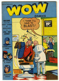 Golden Age (1938-1955):Humor, Wow Comics #63 Mile High pedigree (Fawcett, 1948) Condition: VF/NM. Commando Yank and Pinky and Mr. Scarlet appearances. Ove...