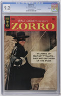 Silver Age (1956-1969):Western, Zorro #1 File Copy (Gold Key, 1966) CGC NM- 9.2 Off-white to white pages. Photo cover. Overstreet 2006 NM- 9.2 value = $120....