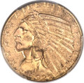 Indian Half Eagles, 1929 $5 MS63 PCGS. CAC....