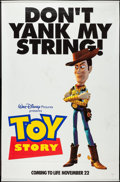 "Movie Posters:Animation, Toy Story (Buena Vista, 1995). Banners (2) (45.5"" X 70"") DS, Advance. Animation.. ... (Total: 2 Items)"