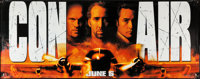 "Con Air (Buena Vista, 1997). Vinyl Banner (47"" X 120""). Action"