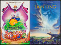 """Movie Posters:Animation, The Lion King & Others Lot (Buena Vista, 1994). Mini Posters (6) (17.5"""" X 27"""" & 18"""" X 27""""). Animation.. ... (Total: 6 Items)"""