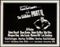 "Movie Posters:Crime, The Godfather Part II (Paramount, 1974). Half Sheet (22"" X 28"").Crime.. ..."