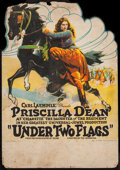 "Movie Posters:Adventure, Under Two Flags (Universal, 1922). Table Top Standee (10.5"" X 15"")Style B. Adventure.. ..."