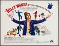 "Movie Posters:Fantasy, Willy Wonka & the Chocolate Factory (Paramount, 1971). Half Sheet (22"" X 28""). Fantasy.. ..."