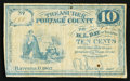 Obsoletes By State:Ohio, Ravenna, OH- Treasurer of Portage County 10¢ 1862. ...