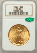 Saint-Gaudens Double Eagles: , 1924 $20 MS65 NGC. CAC. NGC Census: (32190/4795). PCGS Population(39579/8084). Mintage: 4,323,500. Numismedia Wsl. Price f...