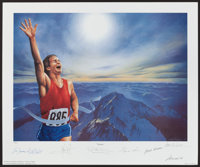 "Victory by Lorne Winters (Signature Authentics, 1994). Autographed Numbered Limit Edition Art Print (18.5"" X 22&quo..."
