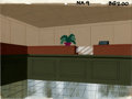 Animation Art:Production Drawing, Bank Interior Animation Production Background Original Art(undated). A beautiful bank lobby interior for an unidentifiedan...