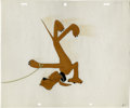 Animation Art:Production Cel, Walt Disney Studios - Pluto Production Cel Original Art (Disney, undated). Mickey Mouse's pet dog, Pluto, was named after th...