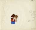 "Animation Art:Production Cel, ""Snuffy Smith and Barney Google"" Animation Production Cel OriginalArt (Famous Studios, 1963). The irascible comic strip hil..."