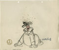 "Animation Art:Production Drawing, ""Smoked Hams"" Animation Production Drawing Original Art (WalterLantz Productions, 1946). Day sleeper, Wally Walrus, has som...(Total: 2 Items)"