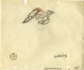 Animation Art:Production Drawing, Woody Woodpecker Opening Title Animation Production DrawingOriginal Art (Walter Lantz Productions, 1950). Own a piece of th...(Total: 2 Items)
