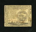 Colonial Notes:Continental Congress Issues, Continental Currency May 10, 1775 $4 Extremely Fine-About New. Avery pleasing example from this first Continental emission ...