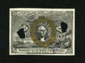 """Fractional Currency:Second Issue, Milton 2E25F.6 25c Second Issue Experimental Choice New. This Experimental with a bronze oval is rubber stamped """"SPECIMEN,"""" ..."""