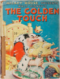 Books:Children's Books, Walt Disney. The Golden Touch. Whitman, 1937. Publisher'spictorial boards with light rubbing and bumping. Pages ton...