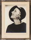 "Movie Posters:Miscellaneous, Carole Lombard (Paramount, 1930s). Portrait Photo (10.5"" X 13.5"")in Frame (15"" X 19""). Miscellaneous.. ..."