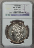 Morgan Dollars: , 1888-S $1 -- Whizzed -- NGC Details. AU. NGC Census: (60/3526).PCGS Population (141/5932). Mintage: 657,000. Numismedia Ws...