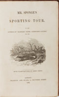 Books:Literature Pre-1900, John Leech [illustrator]. Robert Smith Surtees. Mr. Sponge'sSporting Tour. Bradbury and Evans, 1853. First edit...