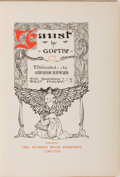 Books:Literature 1900-up, Willy Pogany [illustrator]. SIGNED/LIMITED. Goethe. Faust.Musson, [n. d.]. Limited to 100 numbered copies, si...