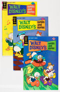 Bronze Age (1970-1979):Cartoon Character, Walt Disney's Comics and Stories #421-441 Group (Gold Key, 1975-78)Condition: Average VF/NM.... (Total: 21 Comic Books)