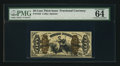 Fractional Currency:Third Issue, Fr. 1343 50¢ Third Issue Justice PMG Choice Uncirculated 64 EPQ.. ...