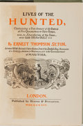 Books:Natural History Books & Prints, Ernest Thompson Seton. Lives of the Hunted. Hodder & Stoughton, 1914. Later edition. Mild rubbing and spotting t...