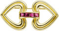 Estate Jewelry:Brooches - Pins, Ruby, Gold Brooch, Tiffany & Co. . ...