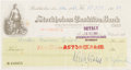 Autographs:Inventors, Francis H. C. Crick Endorsed Nobel Prize Check....