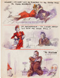 Autographs:Artists, James Montgomery Flagg Archive...
