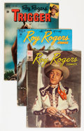 Golden Age (1938-1955):Western, Roy Rogers Comics Group (Dell, 1948-61) Condition: AverageGD/VG.... (Total: 28 Comic Books)