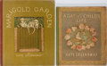 Books:Children's Books, Kate Greenaway. Two Lovingly Illustrated Children's Titles. Bothpublished by George Rutledge, London. Small chip to front f...(Total: 2 Items)