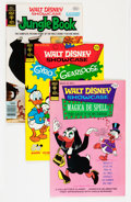 Bronze Age (1970-1979):Cartoon Character, Walt Disney Showcase Group (Gold Key, 1971-80) Condition: AverageNM-.... (Total: 29 Comic Books)