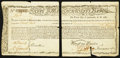 Colonial Notes:Massachusetts, Massachusetts Commodity Bond January 1, 1780 Very Fine.. ...