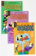 Bronze Age (1970-1979):Cartoon Character, Underdog Group (Gold Key, 1975-78).... (Total: 8 Comic Books)