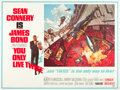"Movie Posters:James Bond, You Only Live Twice (United Artists, 1967). Subway (45"" X 59"")Style A.. ..."