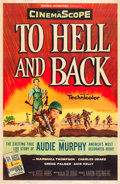 "Movie Posters:War, To Hell and Back (Universal International, 1955). Poster (40"" X60"") Style Z.. ..."