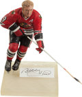 Hockey Collectibles:Others, Bobby Hull Signed Gartlan Figurine....