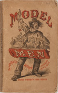 Books:Americana & American History, H. G. Hine [illustrator]. Horace Mayhew. Model Men. Harper& Brothers, [n. d.]. Publisher's wrappers with rubbin...